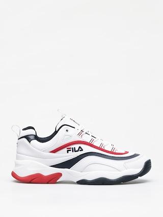 Buty Fila Ray F Low (white/fila navy/fila red)