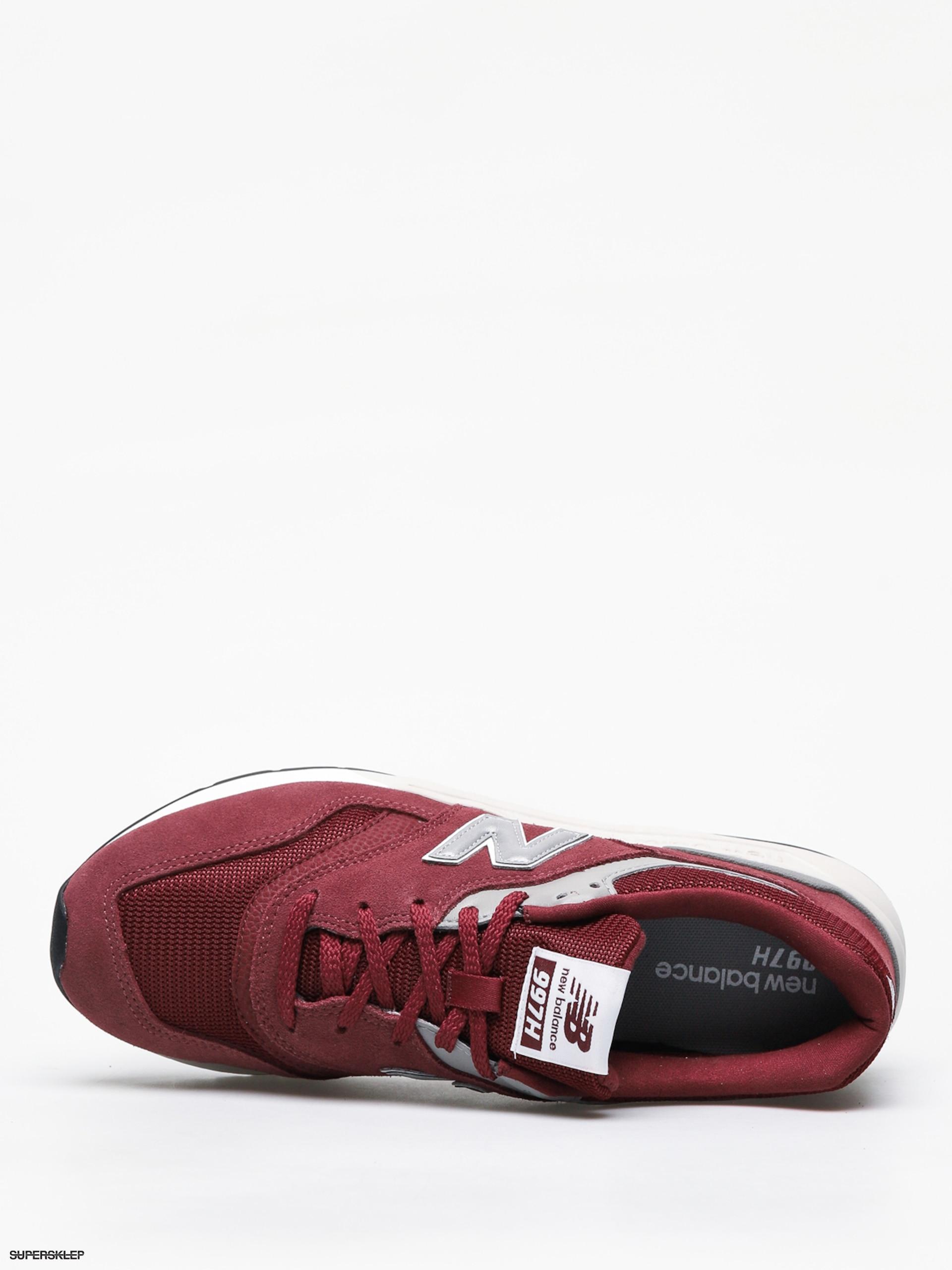Buty New Balance 997 burgundy Cholewka: zamsz materiał
