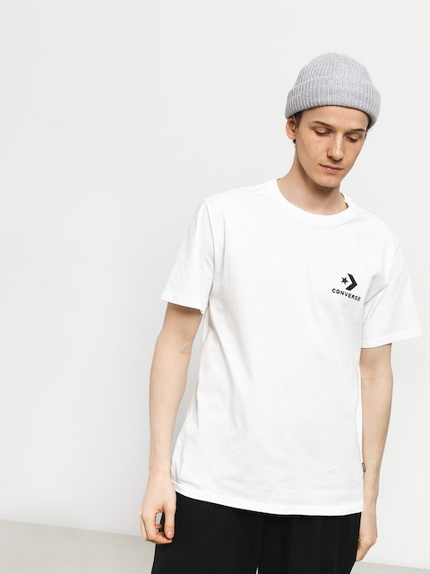 T-shirt Converse Left Chest Star Chevron (white)