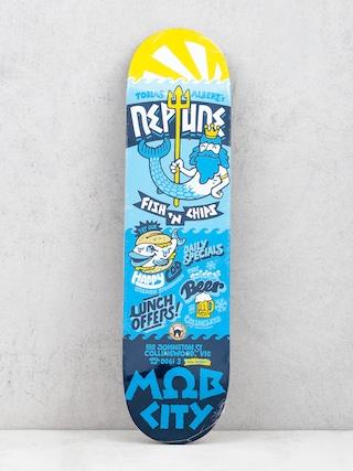 Deck Mob Skateboards Fastfood Neptune (blue)
