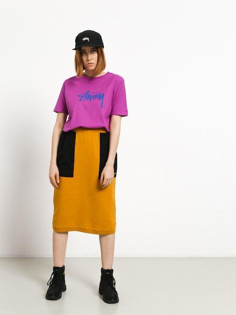 Spódnica Stussy Simone Contrast Pocket Wmn (gold)