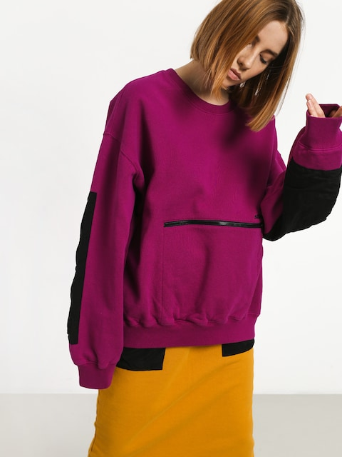 Bluza Stussy Simone Pocket Fleece Crew Wmn (berry)
