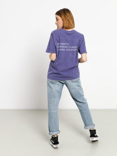 T-shirt Stussy American Classics Pig. Dyed Wmn (purple)