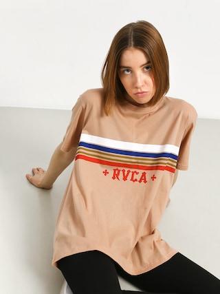 T-shirt RVCA Retro Rvca Wmn (nude)