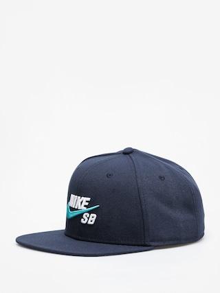 Czapka z daszkiem Nike SB Sb Icon Snapback ZD (obsidian/white)
