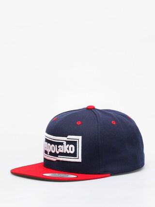 Czapka z daszkiem El Polako Cut ZD (navy/red)