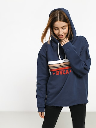 Bluza z kapturem RVCA Retro Rvca HD Wmn (seattle blue)