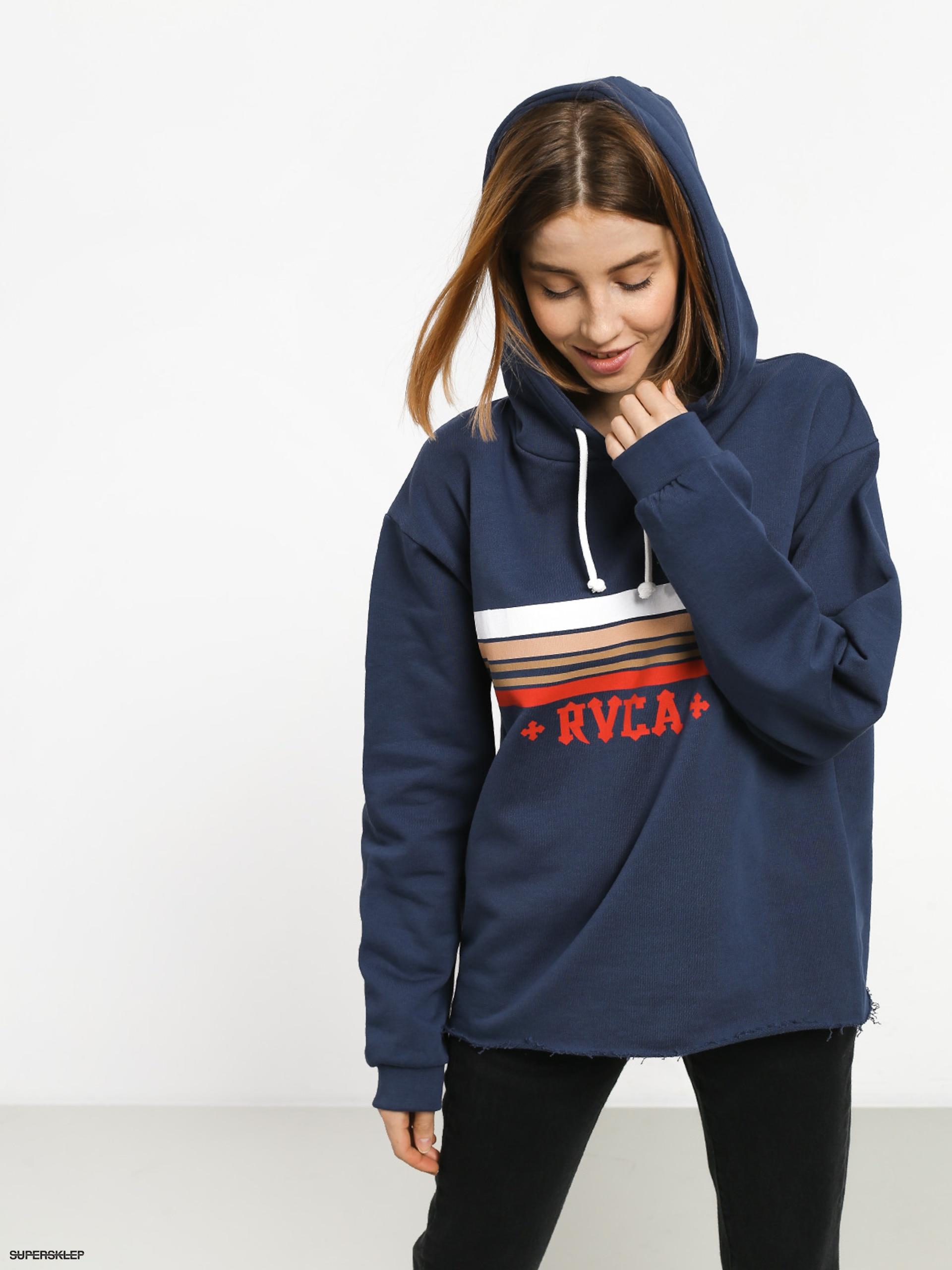 Bluza z kapturem RVCA Retro Rvca HD (seattle blue)