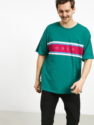 T-shirt OBEY Charm Classic (blue/green/multi)