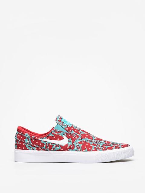 Buty Nike SB Zoom Janoski Slip Rm Cnvs (cabana/white desert ore university red)