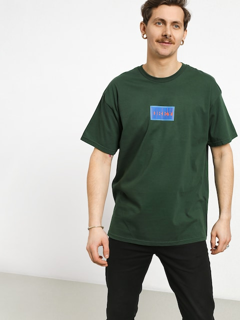 T-shirt OBEY Dazed & Abused (forest green)