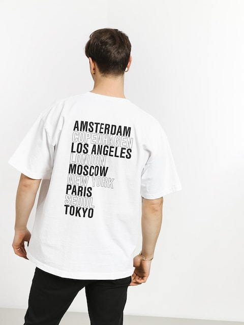 T-shirt OBEY Obey Intl Cities (white)