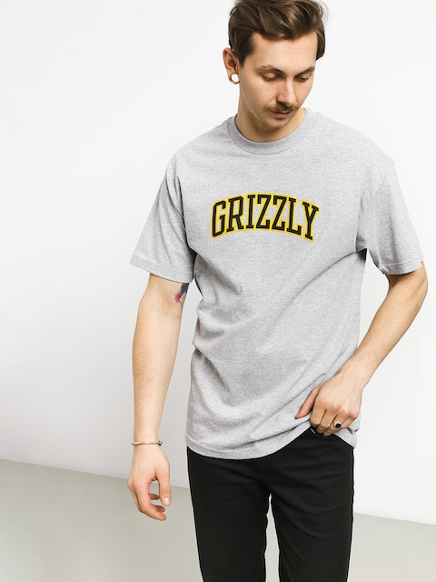 T-shirt Grizzly Griptape University (grey heather)
