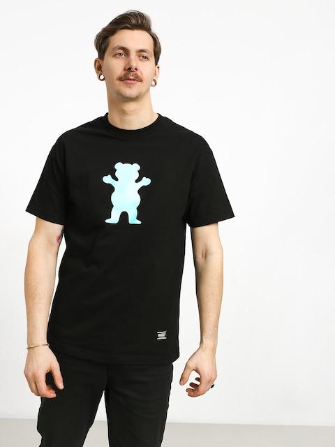 T-shirt Grizzly Griptape Og Bear (black)