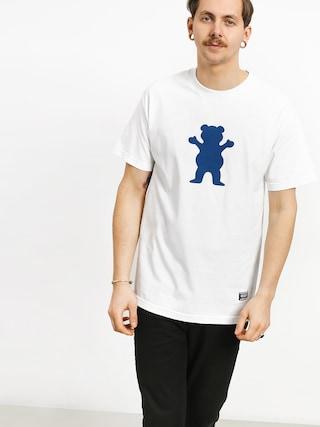 T-shirt Grizzly Griptape Og Bear (white)