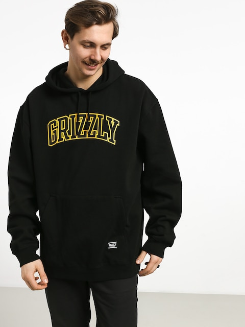 Bluza z kapturem Grizzly Griptape University HD (black)