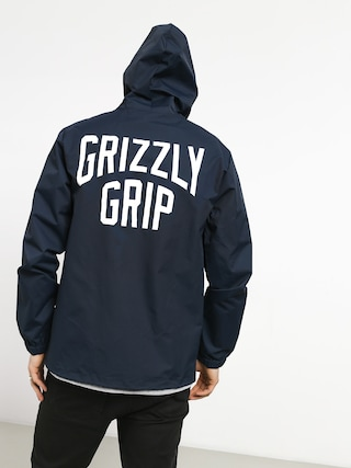 Kurtka Grizzly Griptape All City Hooded (navy)