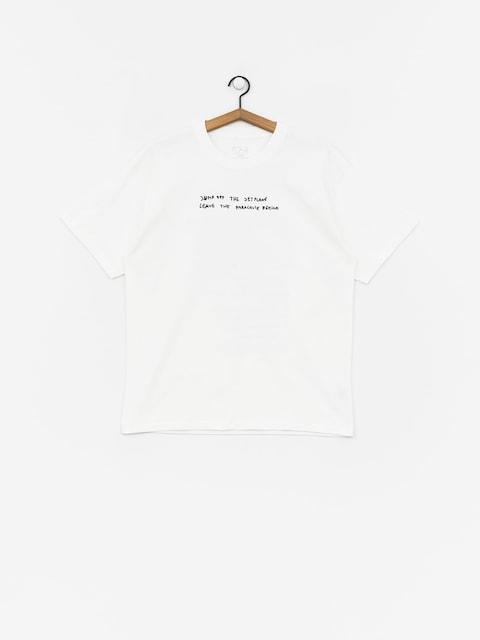 T-shirt Polar Skate Strongest Notes (white)