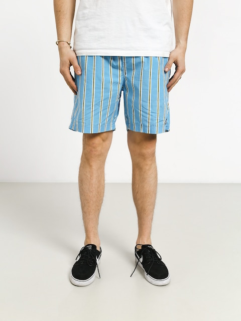 Szorty OBEY Easy Stripe (stripe blue/multi)