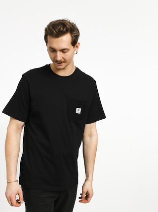 T-shirt Element Basic Pocket Label (flint black)