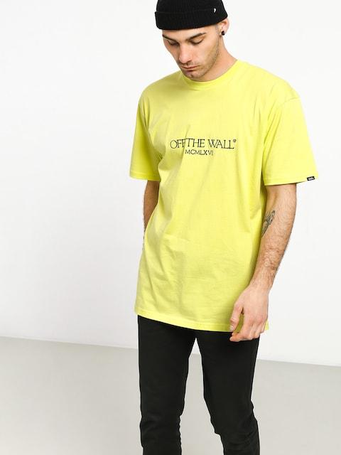T-shirt Vans Old Skool Text