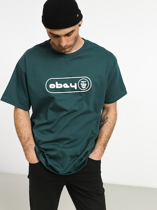 T-shirt OBEY Creeper Circle 2 (pine)
