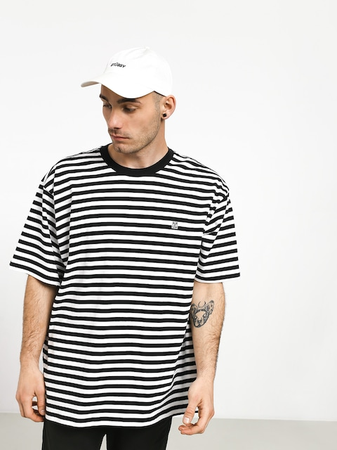 T-shirt OBEY 89 Icon Stripe Box II (black/multi)