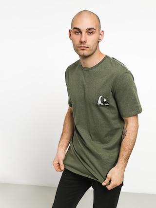 T-shirt Quiksilver Captain Slim (thyme heather)