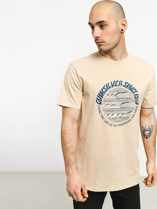 T-shirt Quiksilver Good Arvo (warm sand heather)
