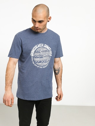 T-shirt Quiksilver Good Arvo (bijou blue heather)