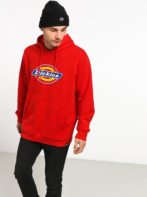 Bluza z kapturem Dickies Nevada HD (fiery red)