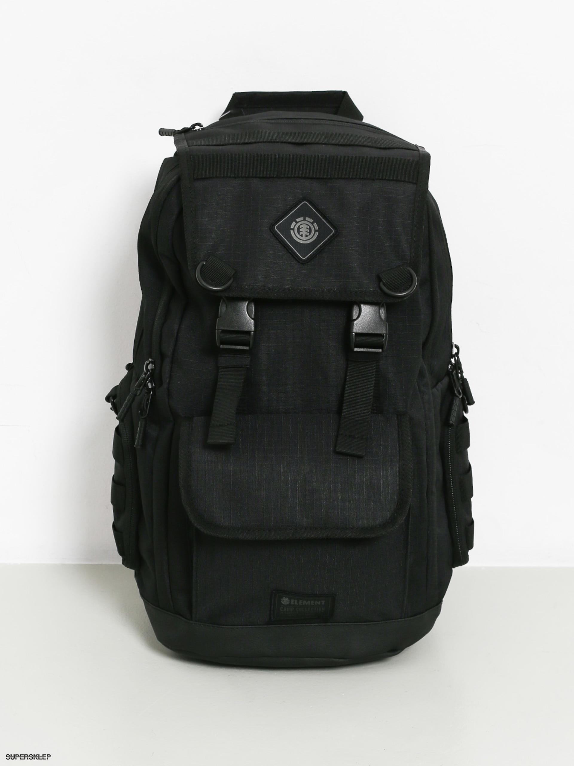 b4593641b0d91 Plecak Element Cypress Recruit (all black)