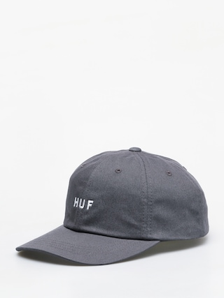 Czapka z daszkiem HUF Essentials Og Logo ZD (charcoal)