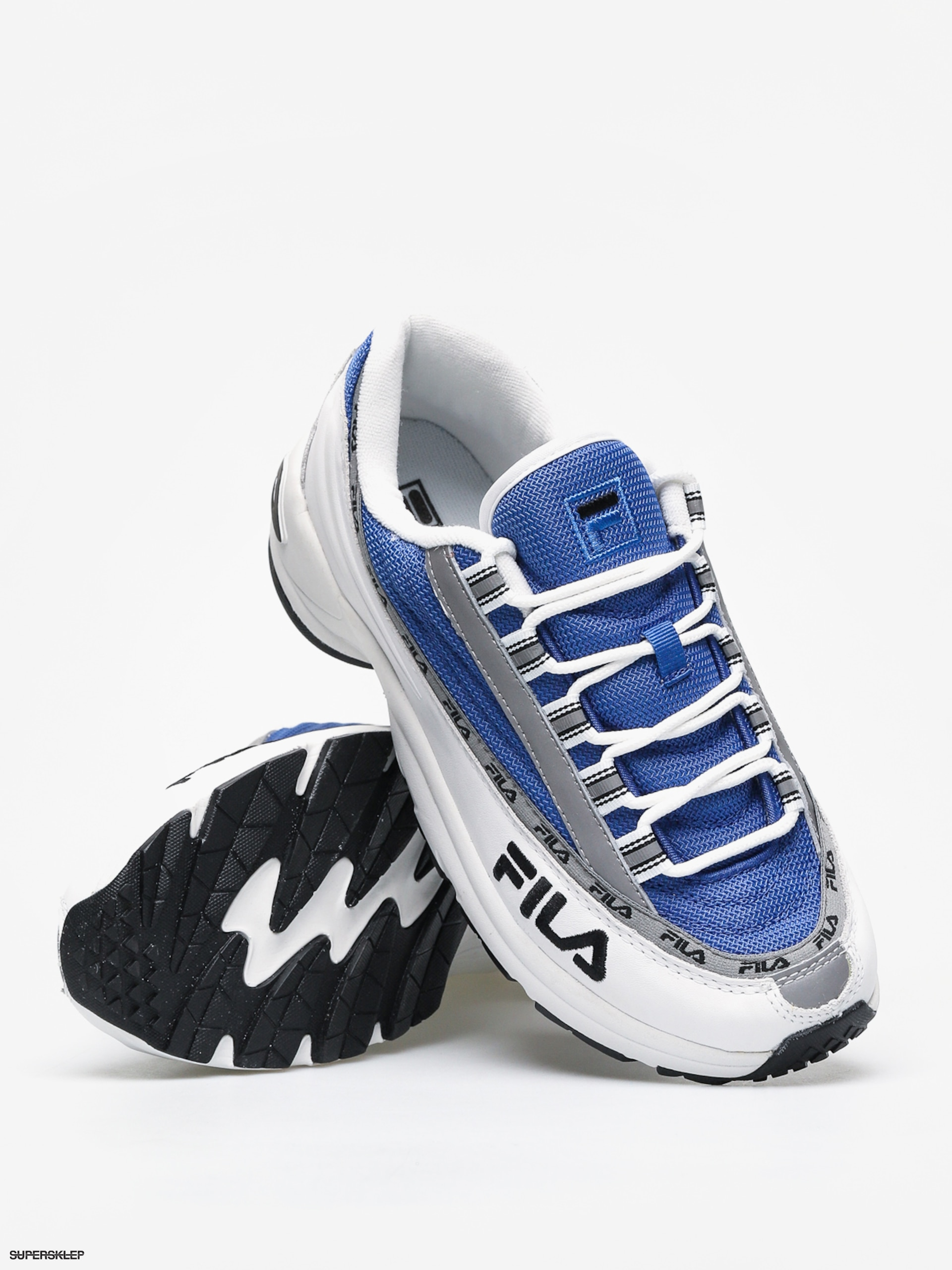 Buty Fila Dragster 97 Wmn (whiteelectric blue)