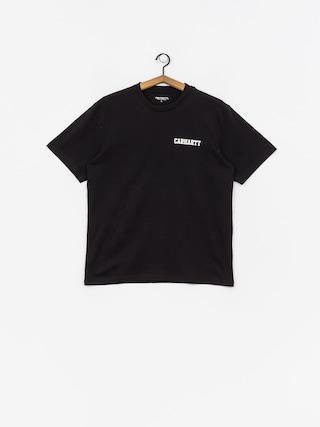 T-shirt Carhartt College Script (black/white)