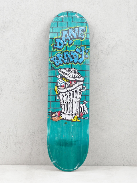 Deck Polar Skate Dane Brady Trash Can (teal)