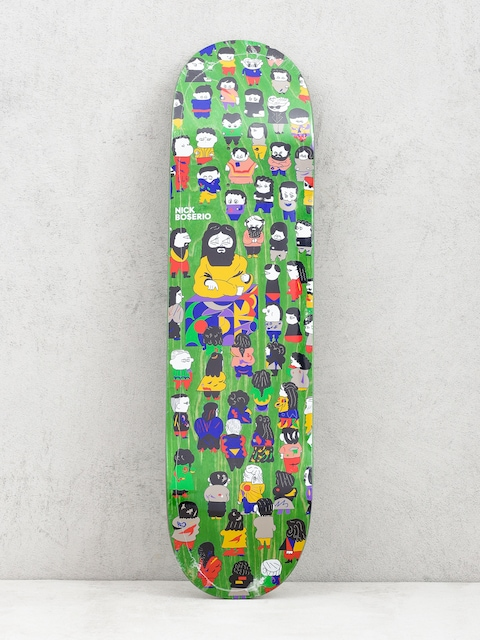 Deck Polar Skate Nick Boserio False Prophets (light green)