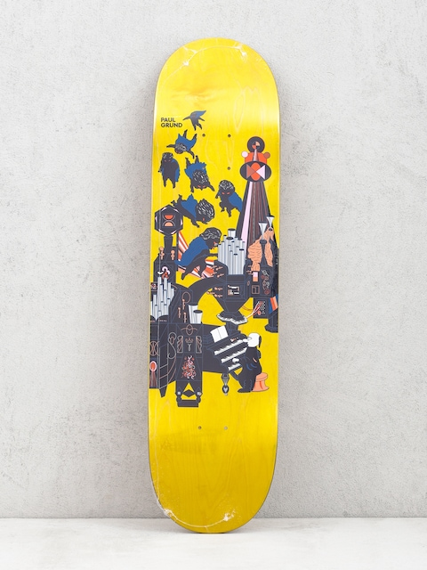 Deck Polar Skate Paul Grund Fortissimo (yellow)