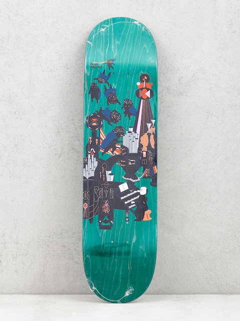 Deck Polar Skate Paul Grund Fortissimo (green)