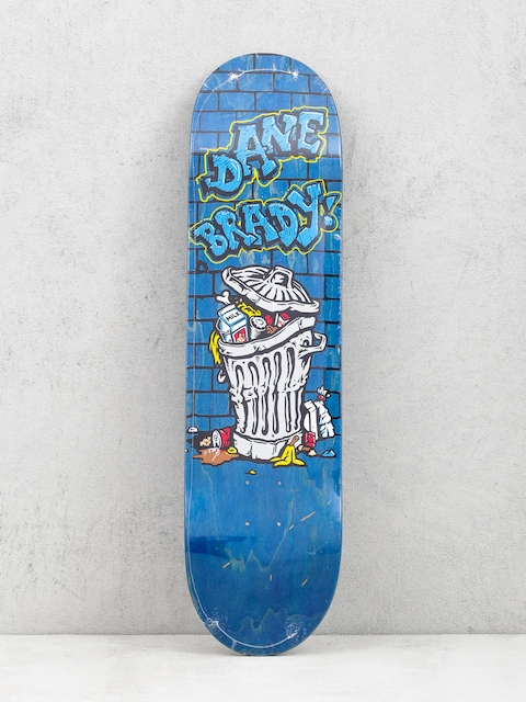 Deck Polar Skate Dane Brady Trash Can (blue)