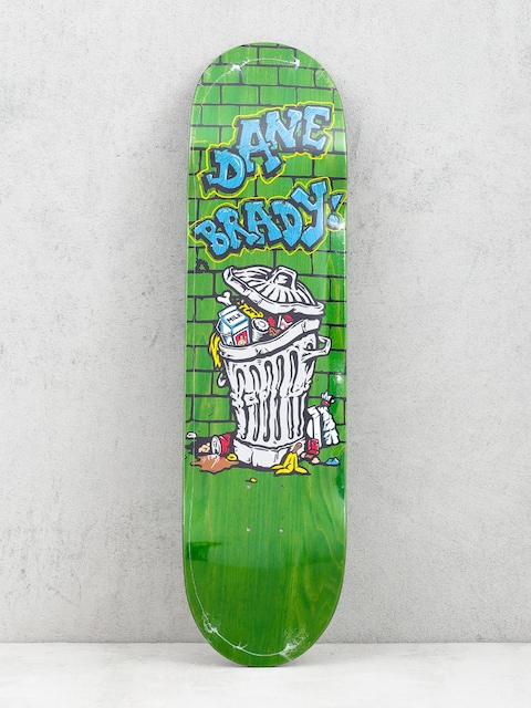 Deck Polar Skate Dane Brady Trash Can (green)