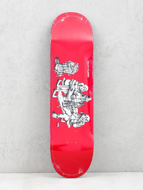 Deck Polar Skate Hjalte Halberg Picknick (red)