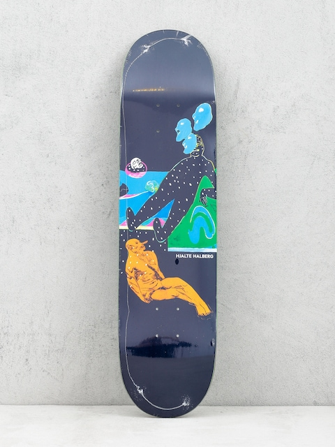 Deck Polar Skate Hjalte Halberg Spaced Out (navy)
