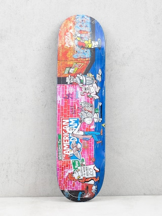 Deck Polar Skate Klez Skid Row (navy)