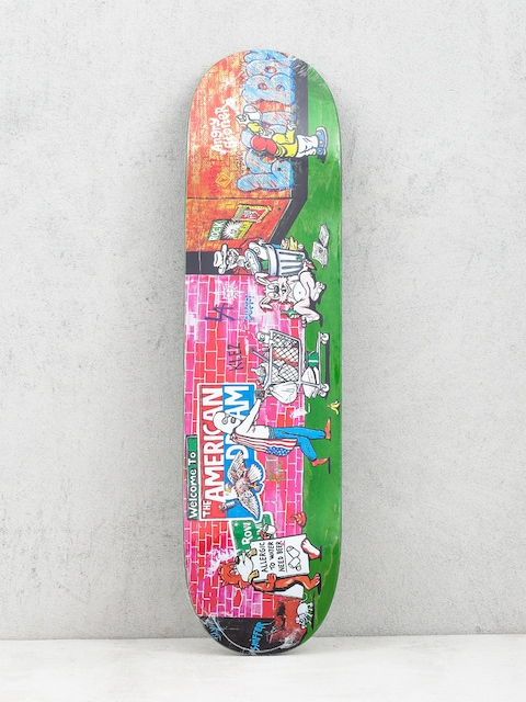 Deck Polar Skate Klez Skid Row (light green)