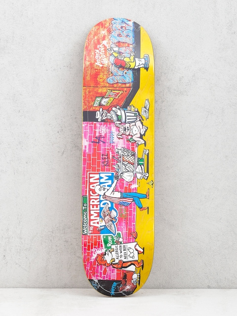Deck Polar Skate Klez Skid Row (yellow)