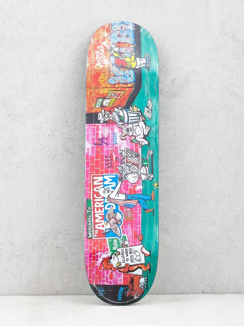 Deck Polar Skate Klez Skid Row (green)