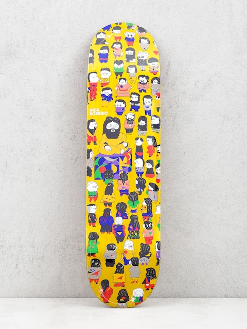 Deck Polar Skate Nick Boserio False Prophets (yellow)