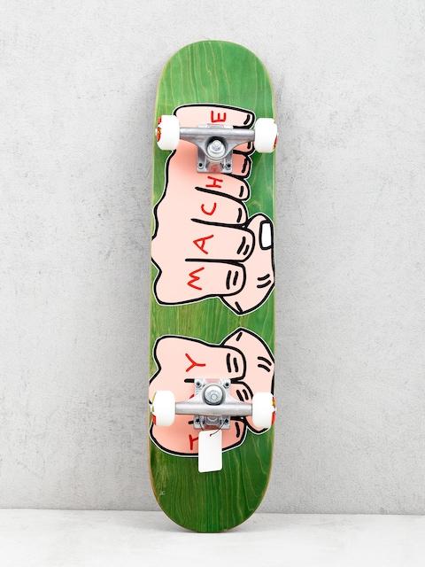 Deskorolka Toy Machine Fists Woodgrain (light green)