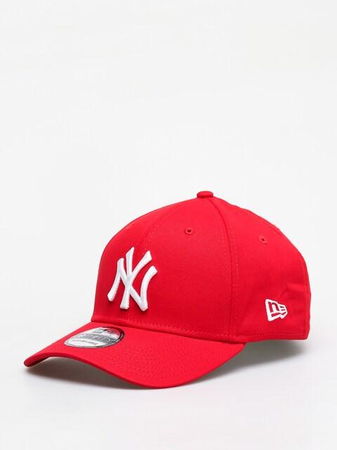 Czapka z daszkiem New Era 3930 League Basic New York Yankees ZD (scarlet/optic white)